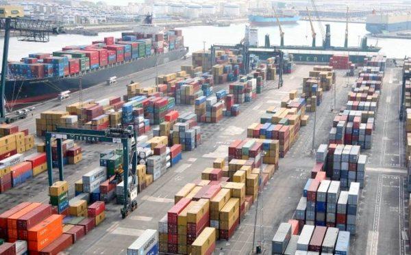 tráfico portuario español