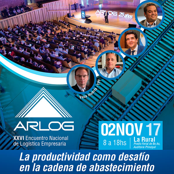 Argentina se prepara para el XXVI Encuentro Nacional de Logística de Arlog