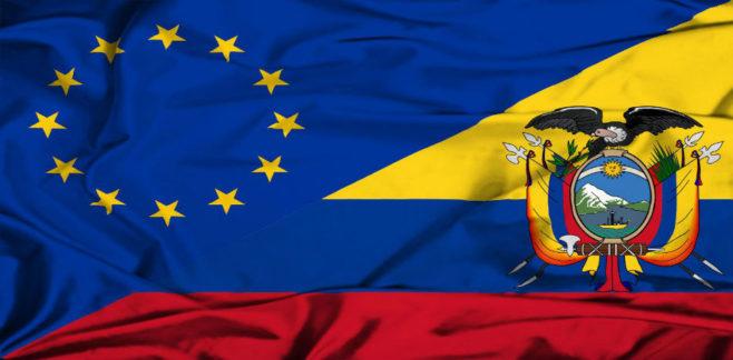 Autorizan la adhesión de Ecuador al acuerdo comercial de la UE con Colombia y Perú