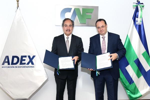 CAF prestará asesoría a exportadores de Perú para mejorar sus oportunidades de negocio e internacionalización
