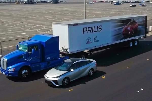 Camión Toyota de hidrógeno