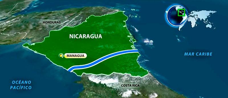 Campesinos en Nicaragua, en contra de canal interoceánico al sur del país