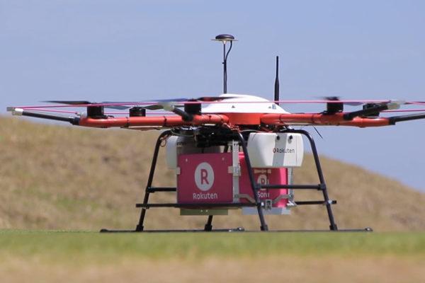 Dron Rakuten
