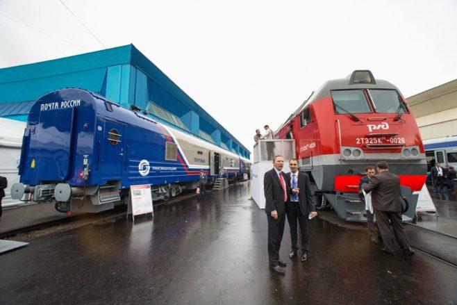 Empresa ferroviaria rusa anuncia inversiones de 170 millones de euros en Argentina