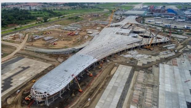 La expansión del principal aeropuerto de Panamá registra avance del 80%