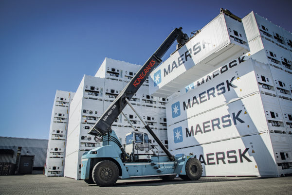 Maersk Line contenedores Reefer