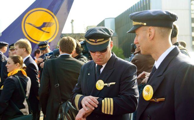 Pilotos Lufthansa