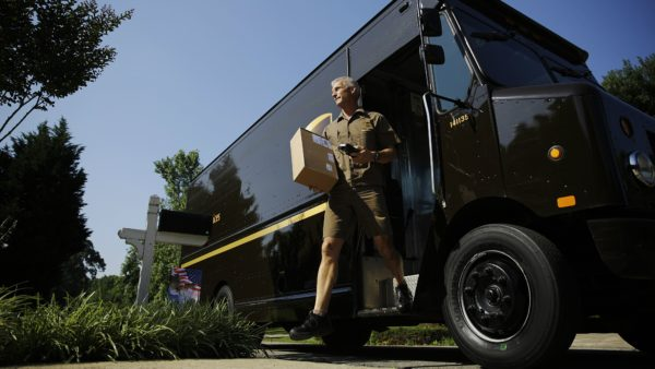 UPS repartidor