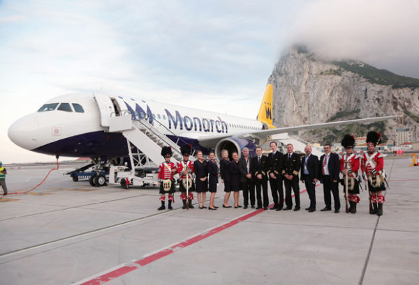 grupo aéreo Monarch
