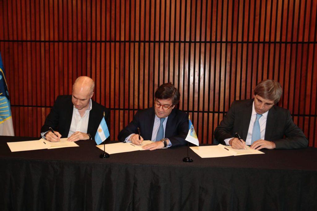 Argentina y el BID firman créditos por 550 millones de dólares para infraestructura urbana y saneamiento