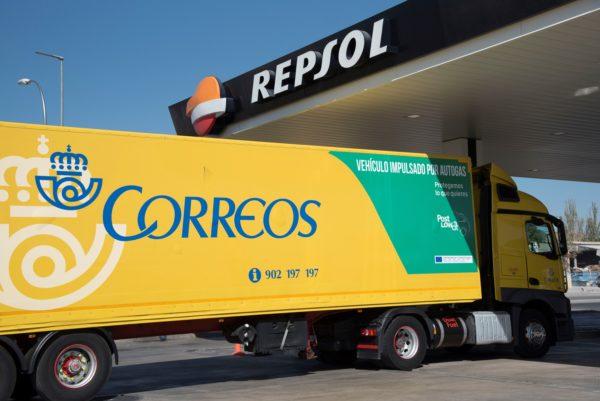 Camión Correos Autogás