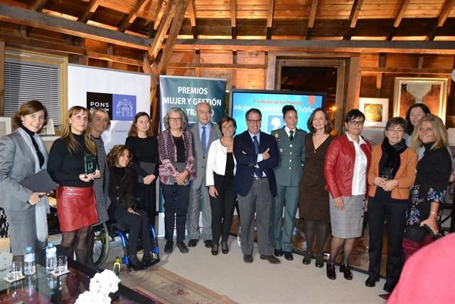 Lourdes Roquet, de la filial de Abertis en España, gana el premio Mujer y Gestión de Tráfico 2017