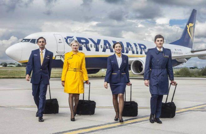 Tripulación Ryanair