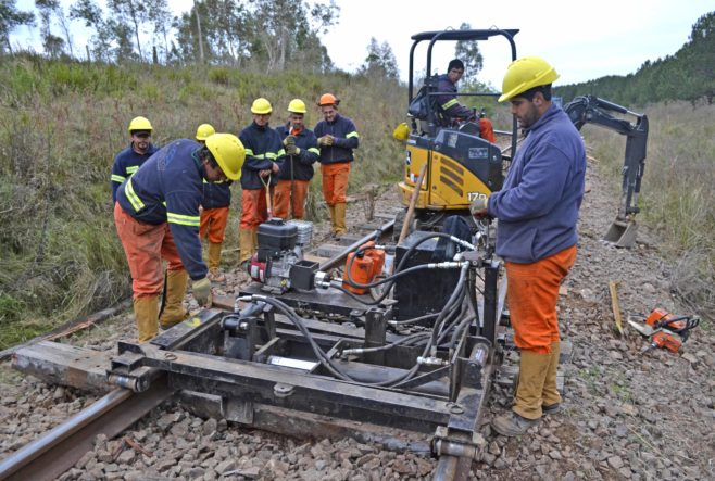 Uruguay hará un llamado este mes a las empresas interesadas en las obras férreas entre Paso de los Toros y Montevideo