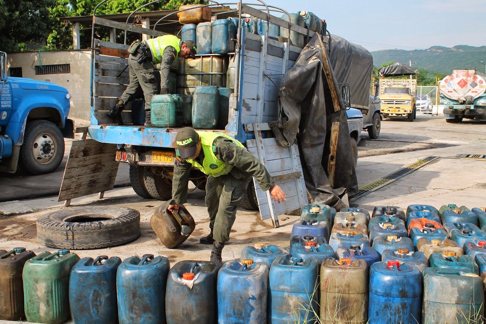 Venezuela planea estrategia contra el contrabando fronterizo