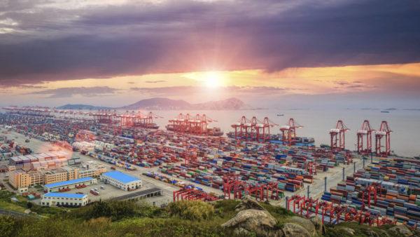 puerto de Shanghái