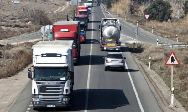 restricciones de circulación por carretera
