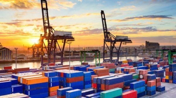 tráfico mundial de contenedores