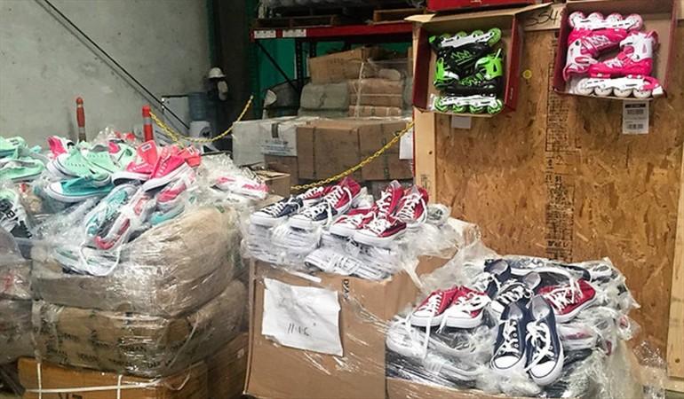 Autoridades de Colombia inmovilizan 15 contenedores con contrabando procedente de China