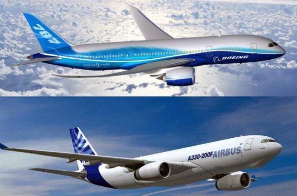 Boeing contra Airbus