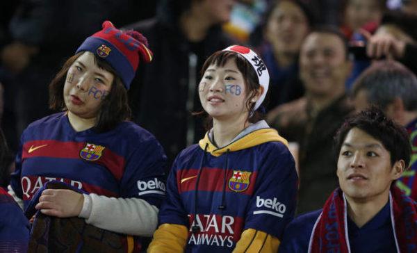 Coreanos en Barcelona