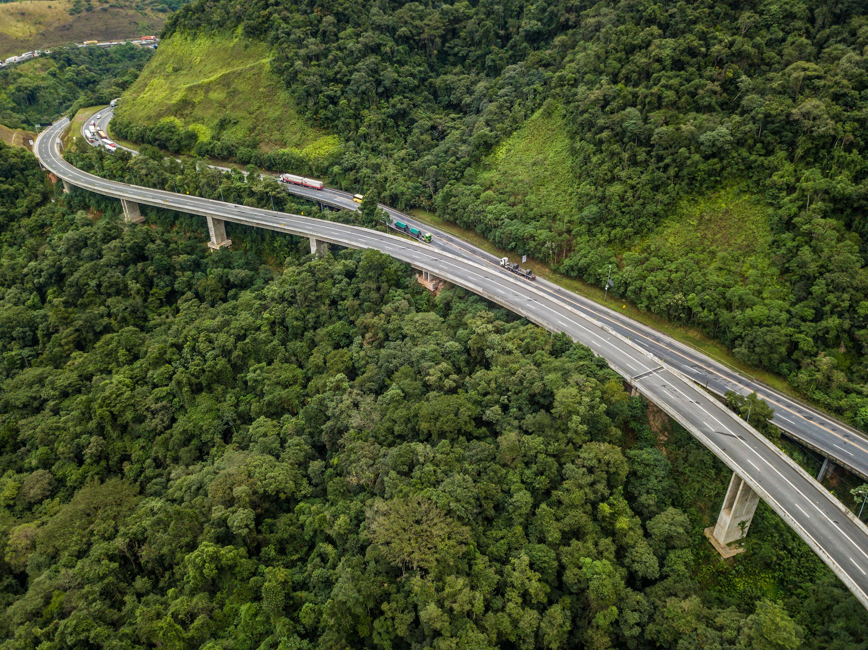 La filial de Abertis en Brasil concluye las obras de duplicación de la autopista Régis Bittencourt