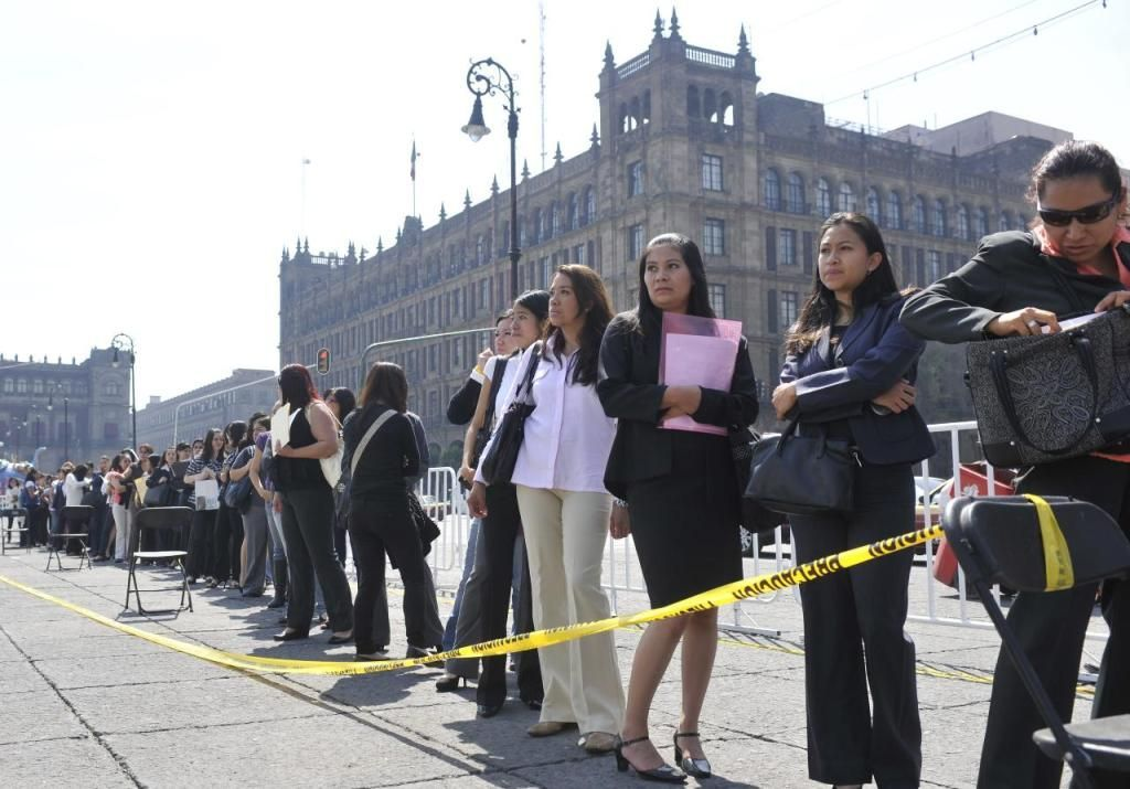 La tasa de desempleo de México baja al 3,5% en octubre