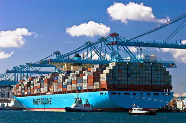 tráfico de mercancías del sistema portuario