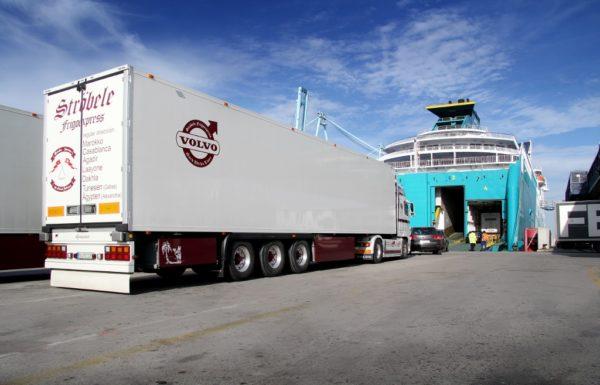 tráfico ro-ro de camiones