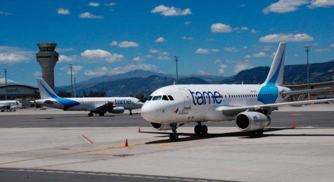 Aerolínea ecuatoriana asegura se beneficiará con política de cielos abiertos