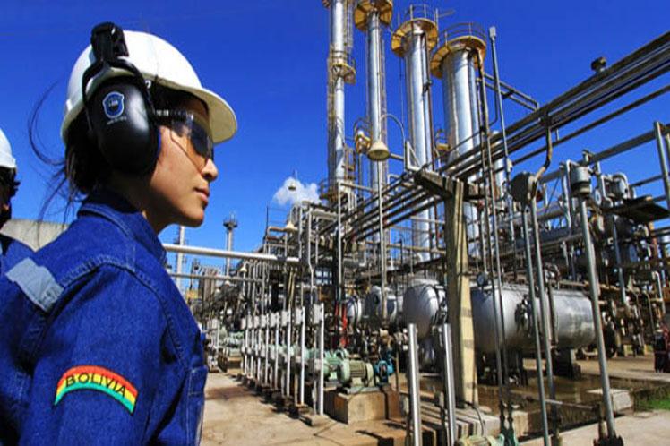 Bolivia recupera sus ingresos por hidrocarburos tras años de caídas