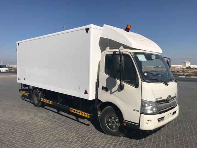 Carrocería de Liderkit en Dubai para vehículos de reparto de IKEA