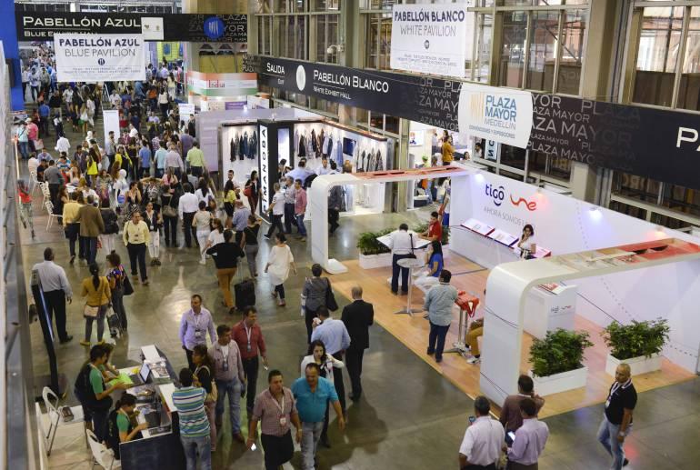 """Colombia abre el año ferial en el país con moda, negocios y conocimiento en """"Colombiatex"""""""