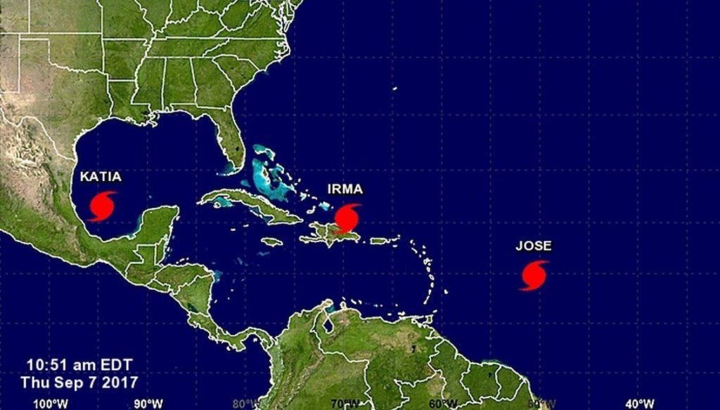Estados Unidos perdió 306.000 millones de dólares por desastres naturales en 2017, según NOAA