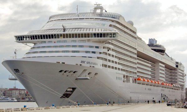 MSC Cruceros en puerto de Valencia
