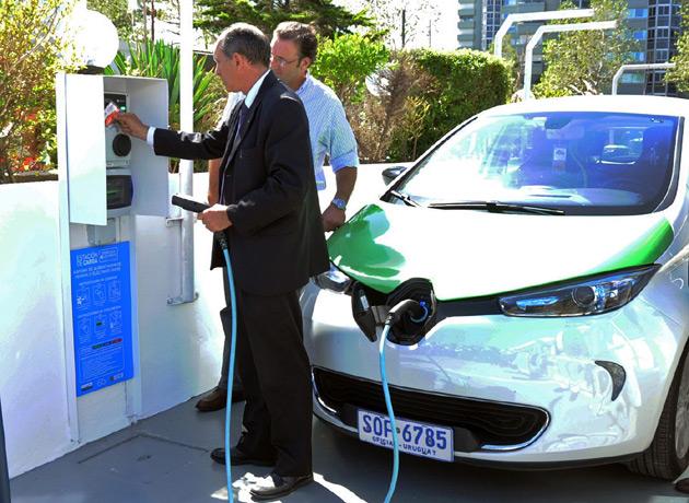 Uruguay pone en marcha la primera ruta eléctrica de América Latina