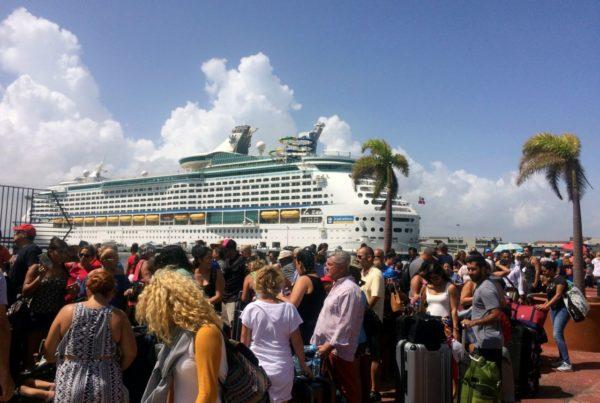 embarque de crucero