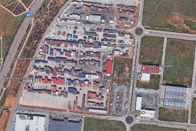 Espacios logísticos en el mercado de Valencia