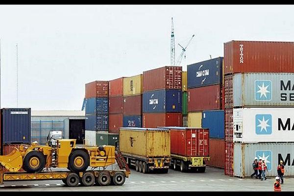 Actividad logística de China
