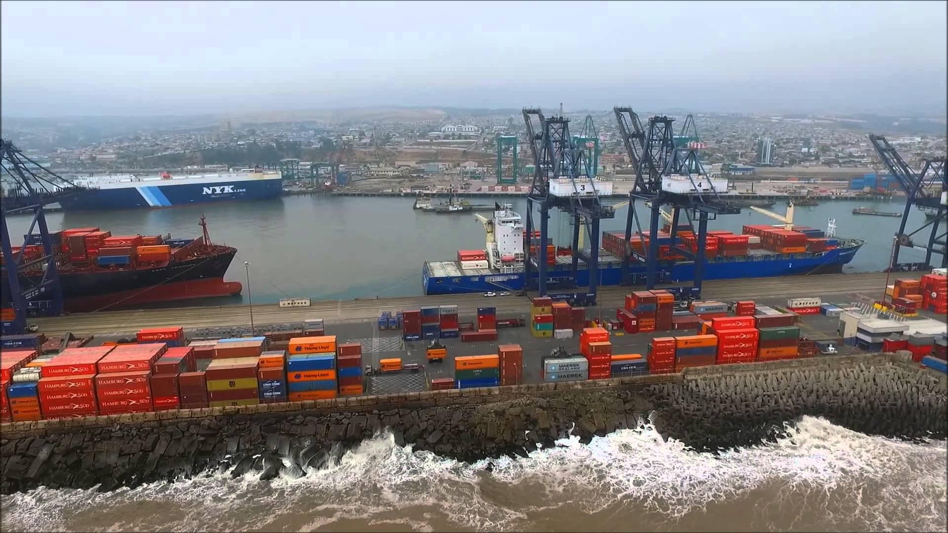 Anuncian inversión de 3.300 millones de dólares para nuevo Mega Puerto en Chile