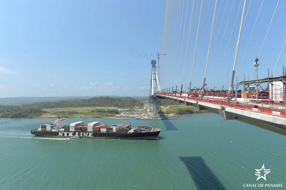 Avanza construcción del puente más largo de Panamá, que dejará ver 3 obras del Canal Interoceánico