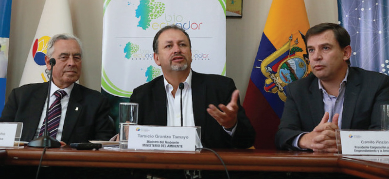 Ecuador crea el primer centro de promoción de bionegocios