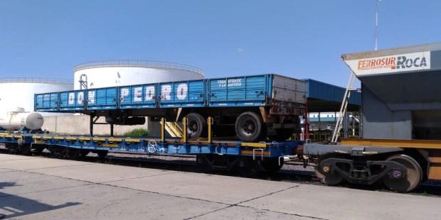 En marcha las primeras pruebas del sistema de transporte de carga intermodal en Argentina