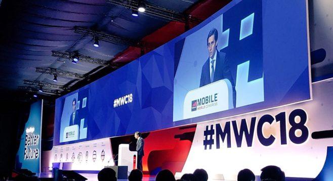 José María Álvarez-Pallete. MWC 2018
