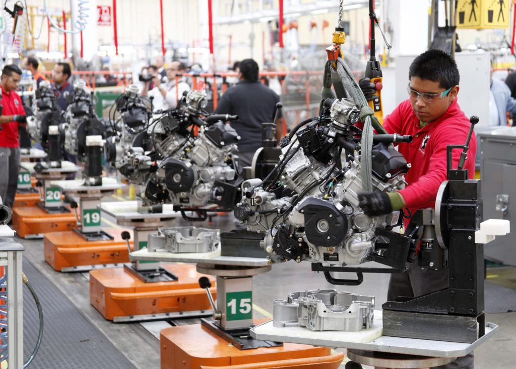 La producción industrial en México disminuyó 0,6% en 2017