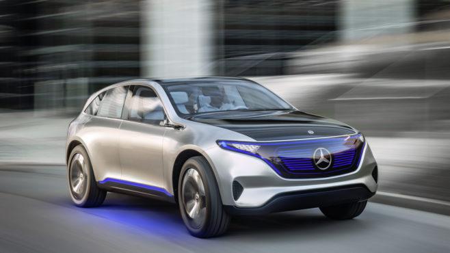 Mercedes-Benz eléctrico