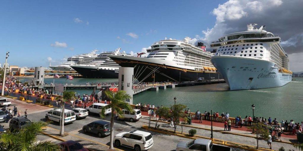 Puerto Rico espera recibir 1,7 millones de visitantes en cruceros durante 2018