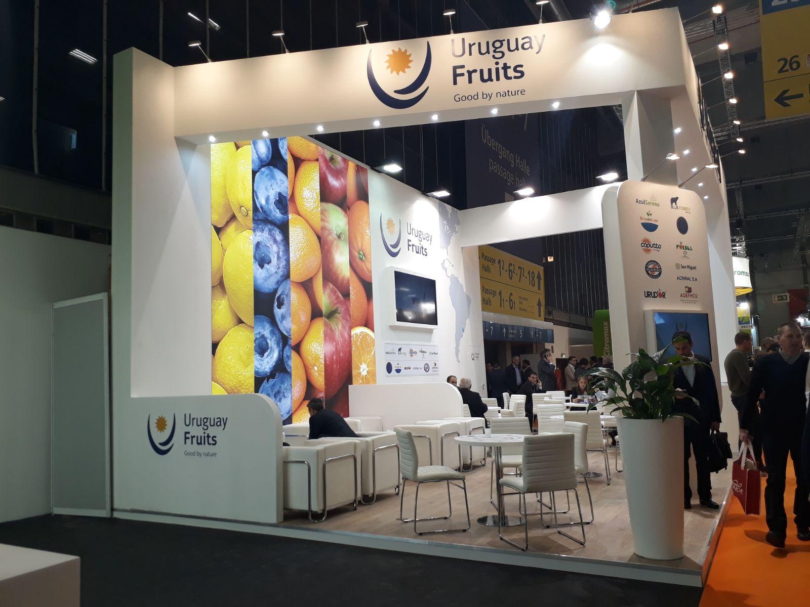 Uruguay potencia en Berlín su oferta frutícola, a la espera de acuerdo con UE para bajar aranceles