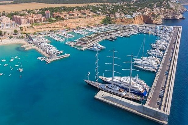 puertos deportivos en Baleares