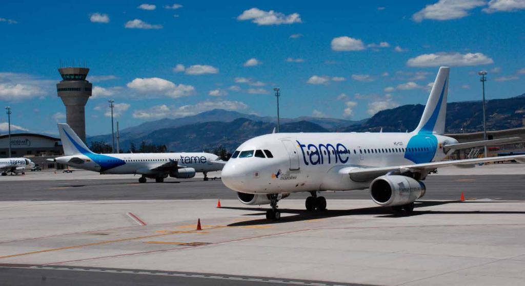 Aerolínea ecuatoriana TAME busca mejorar sus operaciones y estudia abrir rutas a Madrid y Buenos Aires